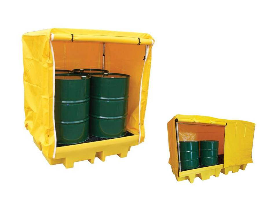 COVERED SPILL PALLETS